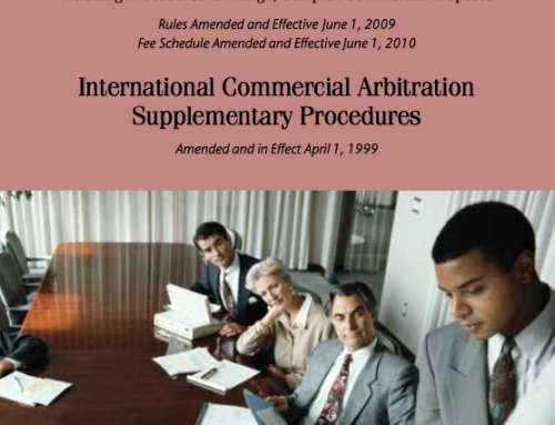 AAA – Commercial Arbitration Rules