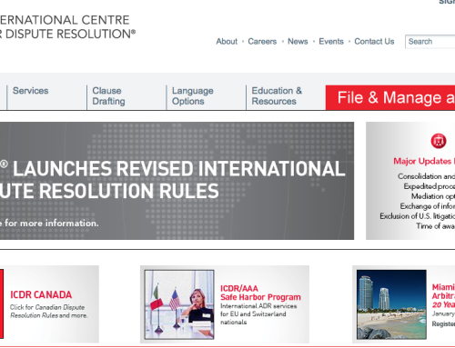 ICDR – International Centre for Dispute Resolution
