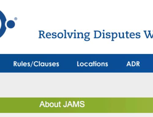JAMS – Private Alternative Dispute Resolution