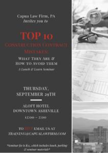 construction seminar